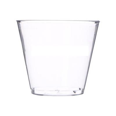 【150ml一次性硬塑航空杯 5盎司 480個/箱 】一次性航空杯透明PS塑料杯飲水杯宣傳杯