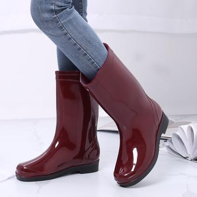 雨鞋女士水鞋雨靴成人水靴工作防滑膠鞋套鞋 莎丞