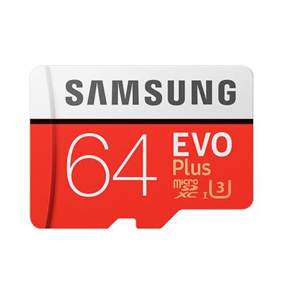 三星(SAMSUNG)64GB TF 存储卡 U3 CLASS 10 4K EVO升级版+ 读速100MB/s写速60