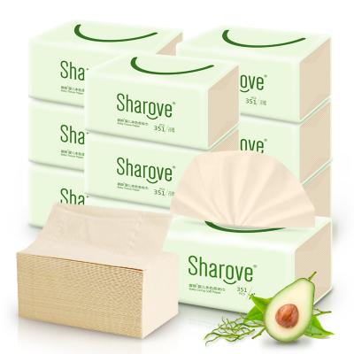 喜朗 嬰兒鱷梨本色柔紙巾351張x10包裝 L碼平裝版117抽3層 樂享輕奢主義