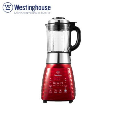美国西屋(WESTINGHOUSE)WFB-A1 破壁料理机 加热家用不锈钢刀头 进口优质电机 耐热玻璃杯米糊料理机
