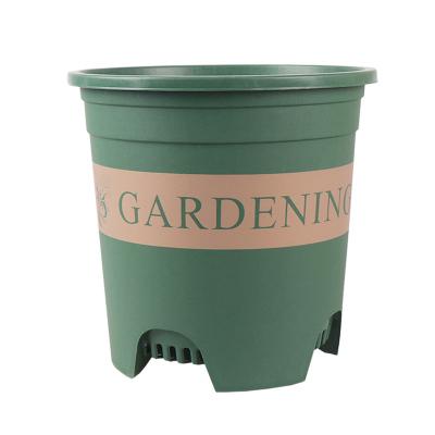 高宅 新款三代加侖盆加厚塑料花盆樹脂多肉綠蘿陽臺家用大號控根蘭花盆3加侖一個