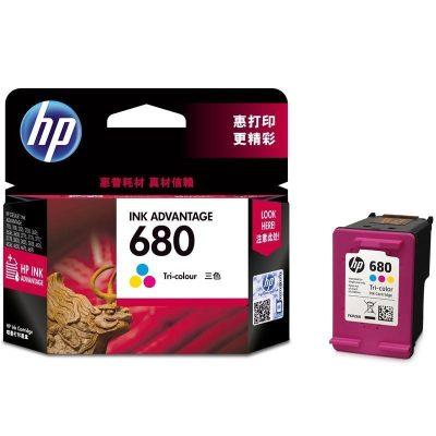 惠普(HP)F6V26AA 680彩色墨盒(適用HP DeskJet 2678 3638 3776 3838 3779)