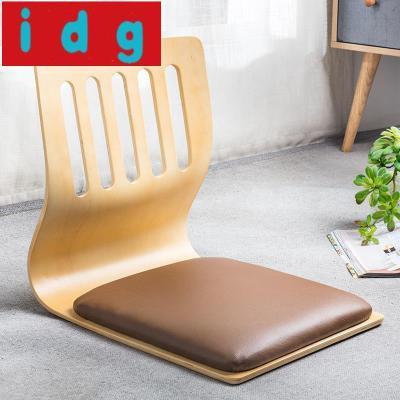 現代簡約榻榻米椅子床上座椅宿舍寢室懶人椅無腿椅日韓靠背椅飄窗椅和室椅8805放心購