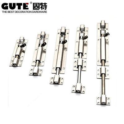 固特GUTE 明裝不銹鋼明插銷 (4寸-12寸)多尺寸 4寸