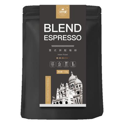 中啡進口咖啡豆拼配意式特濃縮精品 可現磨黑咖啡粉4斤