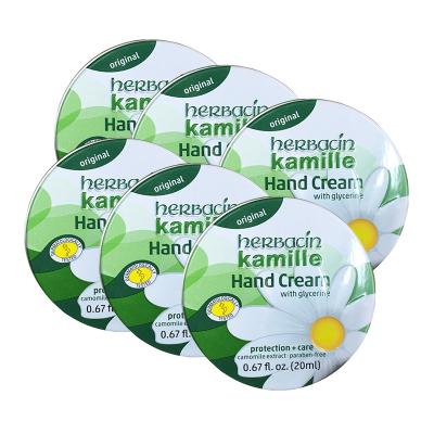 6件 | Herbacin 賀本清 小甘菊 經典護手霜 20ml/件 德國進口