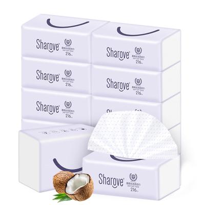 喜朗丝润柔纸巾10包装3层绵柔加厚款 丝软柔滑 清新盈润 天然护理新主张