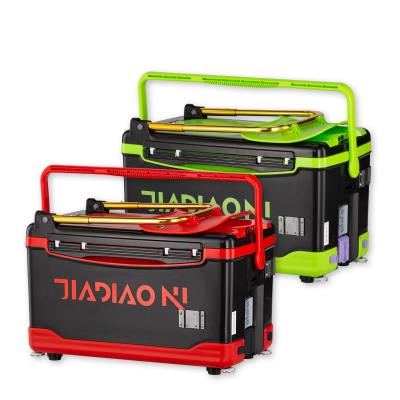 佳釣尼(JIADIAONI)2020新款釣箱釣魚箱多功能魚箱升降腳保溫箱