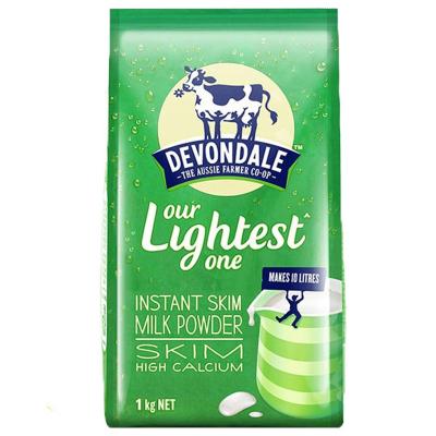 【脫脂不胖放心喝】德運(Devondale)脫脂高鈣成人奶粉 1000g/袋 進口奶粉 學生奶粉 澳大利亞進口