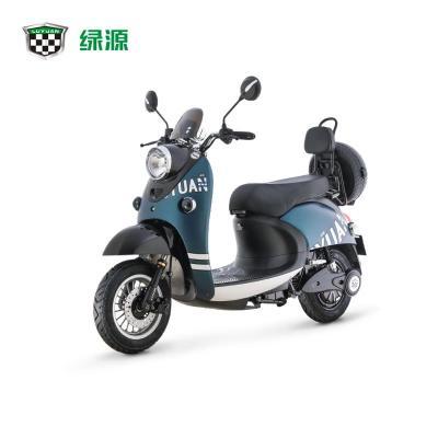 绿源小龟王电动车MH5成人男女电瓶车60V双人踏板长跑电动摩托车