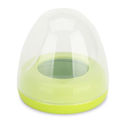 贝亲旗舰店 贝亲(PIGEON)宽口径奶瓶配件 pp盖帽BA61 绿色旋转瓶盖奶瓶帽盖宝宝用品单个装