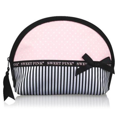 粉色安琪SWEET PINK 蛋糕化妝包 甜美可愛 拉鏈式