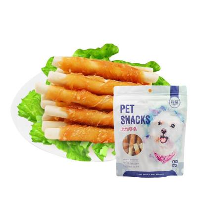 貝蒂 寵物零食 雞肉繞牛奶鈣骨 雞胸肉 泰迪 金毛 比熊 磨牙潔齒 訓練 狗狗零食 肉干/肉條 貝蒂