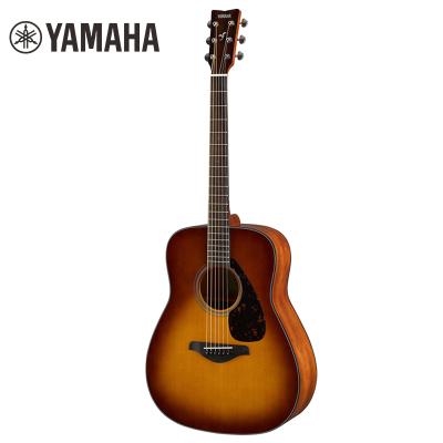 雅馬哈自營(YAMAHA)FG800SDB民謠吉他雅馬哈吉他初學入門吉他男女jita樂器 木吉他民謠吉他圓角 41英寸