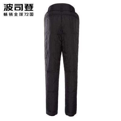 波司登女秋冬季保暖羽絨長褲居家內膽褲保暖舒適羽絨褲