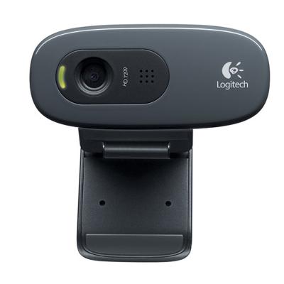 罗技C270高清网络台式电脑视频摄像头免驱带麦克风