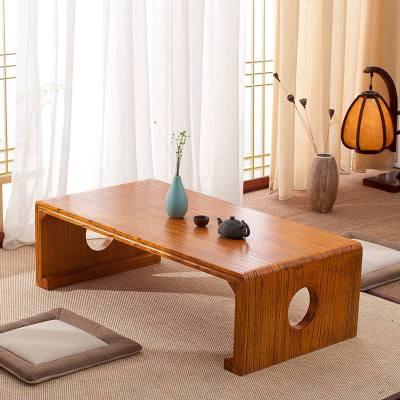 HOTBEE实木桌子榻榻米茶几飘窗桌中式国学桌窗台小矮桌简约仿古茶桌炕桌