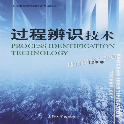 正版过程辨识技术/叶建华著/上海大学出版社上海大学出版社叶建华
