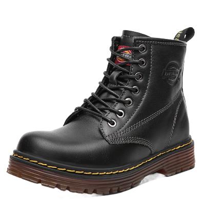Dickies女士马丁靴欧美风显高复古韩版时尚百搭工装靴子学生短靴194W50LXS28