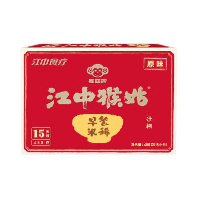 江中猴姑米稀早餐麥片代餐 MIXI 營養米糊450g 營養代餐米稀 谷物沖飲即食盒裝15天裝不含糖國產米稀