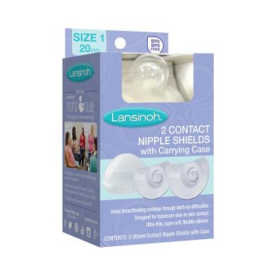 蘭思諾哺乳期乳頭保護罩 親柔觸感乳頭保護罩2片 乳頭保護罩