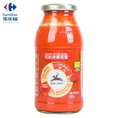 【家乐福】有机尼奥有机纯番茄酱500克