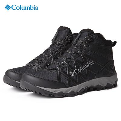 2020秋冬新品哥倫比亞Columbia戶外中幫男鞋防水登山徒步鞋DM0074