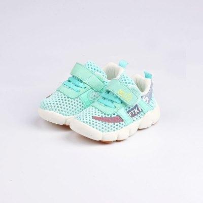 佳親softkids 全網面涼鞋 防滑減震透氣運動清新1-4歲寶寶