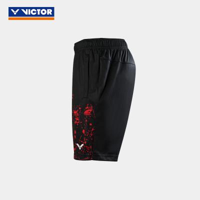 VICTOR/威克多 羽毛球服夏季男女款訓練系列羽毛球服 針織運動短褲 000202 90202