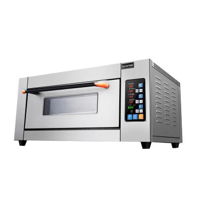 樂創電器旗艦店(lecon)YXD-Z101 電烤箱 商用烘培爐電烤箱 一層一盤電烤箱 微電腦控制 商用烤箱