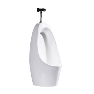 余府YUMR家用陶瓷感應式小便斗落地式尿斗陶瓷兒童小便器掛墻壁掛式衛生間男式
