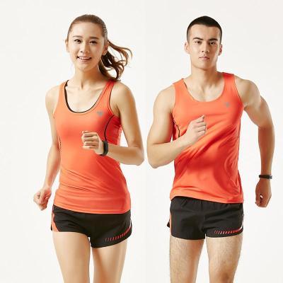 田徑服瑜伽背心短褲套裝夏馬拉松訓練比賽服晨跑運動套裝神孩子
