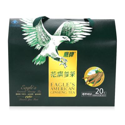 鹰牌花旗参茶 3g/袋*10包*2罐