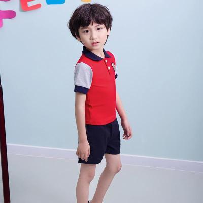 幼儿园园服夏装夏季儿童班服演出服短袖运动装老师小学生校服
