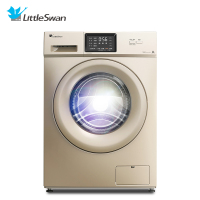 小天鹅10公斤大容量全自动滚筒洗脱一体洗衣机 变频节能 家用 金色