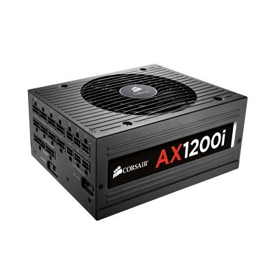 USCorsair 美商海盗船AX1200i 白金牌 额定功率1200W电源静 台式机电源 电脑电源