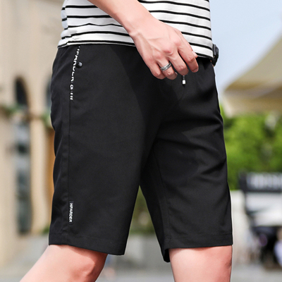 短褲男夏天運動休閑五分大褲衩夏季5分7七分寬松速干男士沙灘褲潮