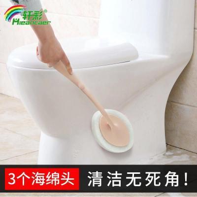 長柄海綿擦墻壁清潔刷浴缸浴室刷地板瓷磚百潔布