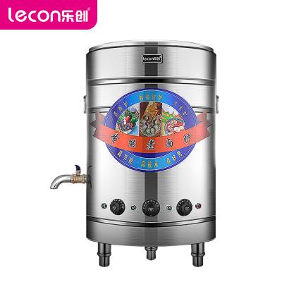 樂創(lecon) 煮面機 LC-ZML01 商用煮面爐 50型電熱平底款多功能電熱煮面桶 餃子麻辣燙鍋9000W