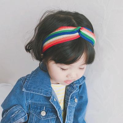 兒童箍亮絲針織女童飾韓國公主百搭中大童小學生頭飾成人頭箍