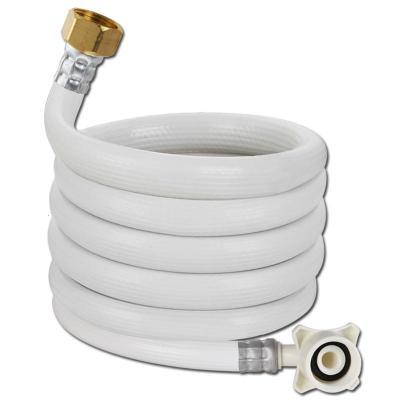 4分螺口洗衣機閃電客進水管軟管龍頭角閥轉接頭全自動洗衣機上水管 2米螺口進水管