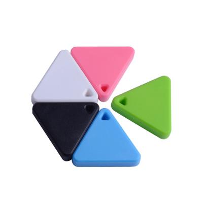 藍牙4.0雙向智能防丟定做鑰匙扣環智能防丟鑰匙扣三角形防丟器HIXANNY