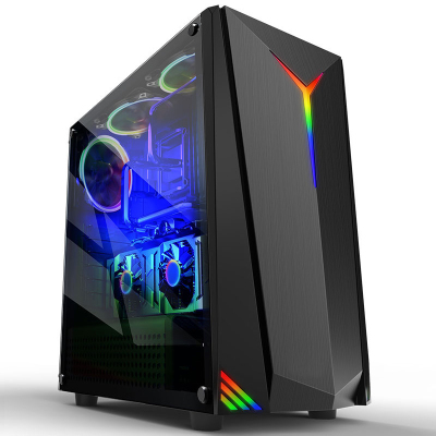 世紀之星(CENTURY STAR)i7級六核E5 2620/RX550 4G獨顯/8GB內存/256GB固態 家用辦公娛樂LOL游戲電腦臺式機 組裝電腦 臺式電腦 電腦主機 整機