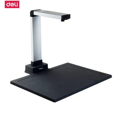 得力deli15152高清智能 高拍仪A4 照片文件 证件 办公快速扫描仪 1000万像素(硬胶座)