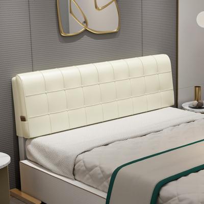 杞沐床頭罩床頭板軟包靠背雙人靠墊皮革靠枕1.8米1.5加厚床頭套