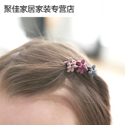 韓版磨砂花朵迷你卡夾子 美飾品頭飾劉海夾小抓夾邊夾夾