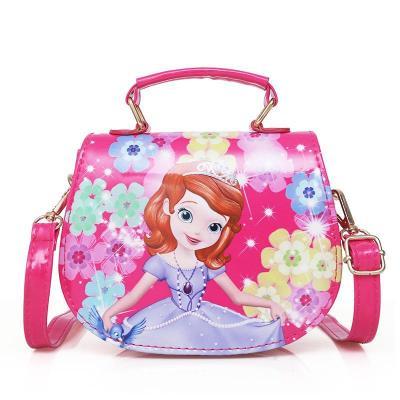韩版儿童包包女童斜挎包时尚公主包可爱手提小女孩单肩包索菲亚 臻依缘