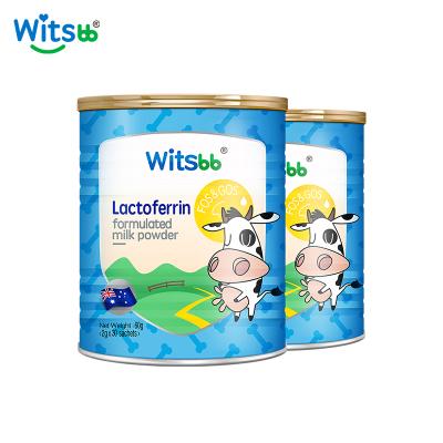 [2罐裝][免疫小超人 ][雙益生元]witsbb澳洲健敏思嬰幼兒乳鐵蛋白調制乳粉80g