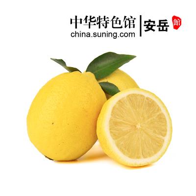 【中华特色】安岳馆 雷蒙四川安岳水果柠檬1斤装 单果130-200g 西南